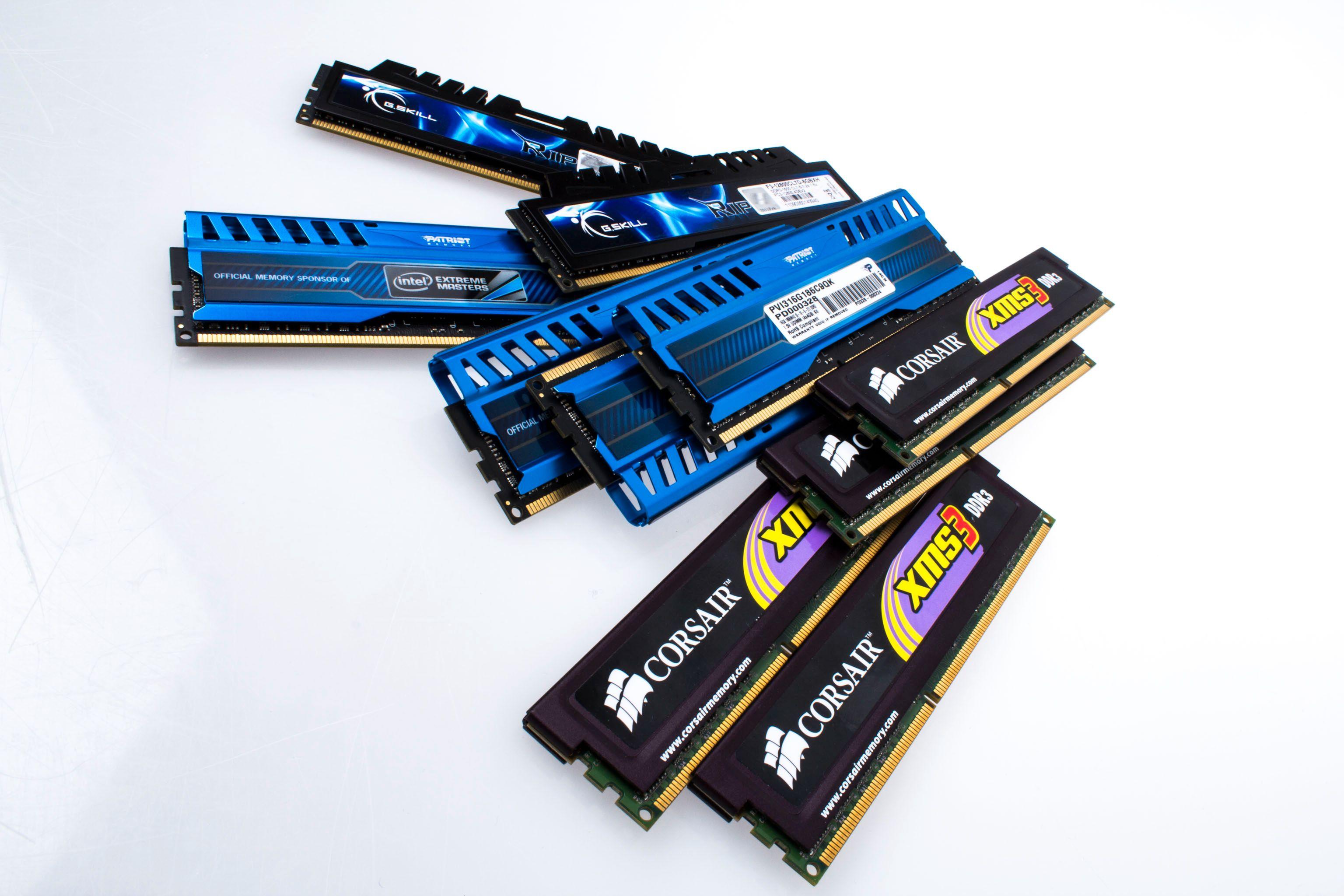 Minnemodulene vi forsøker oss på å oppgradere med er de samme som vi prøvde forrige gang.Foto: Varg Aamo, Hardware.no