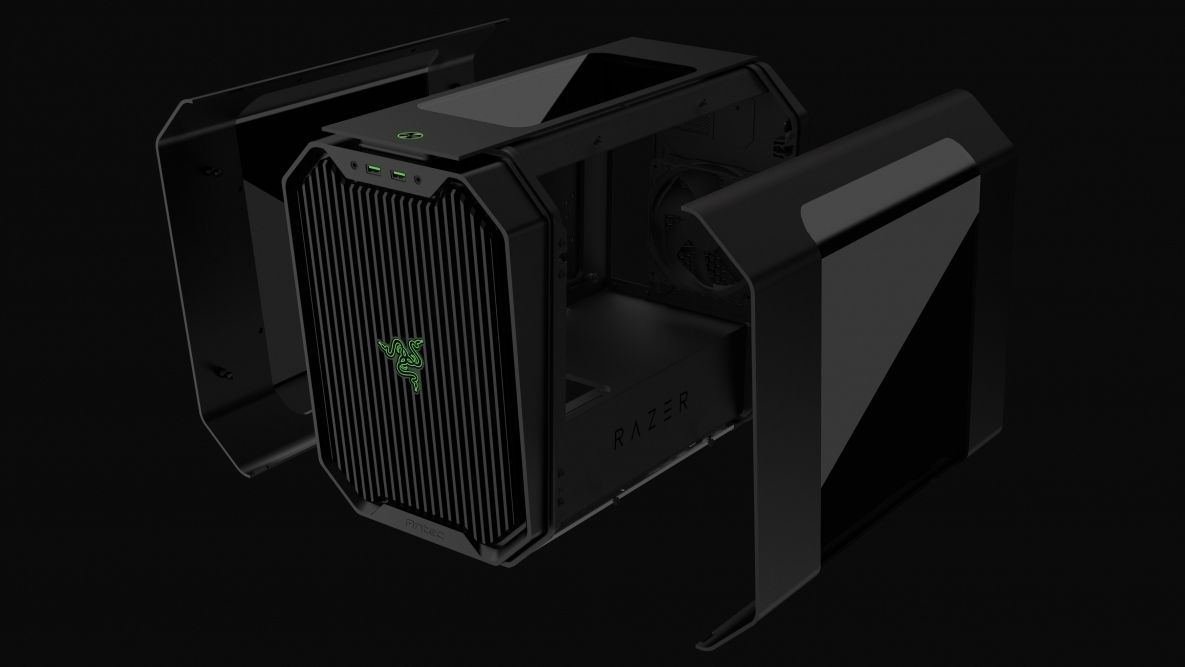 Razer og Antec har lagd et lite og lekkert gamingkabinett