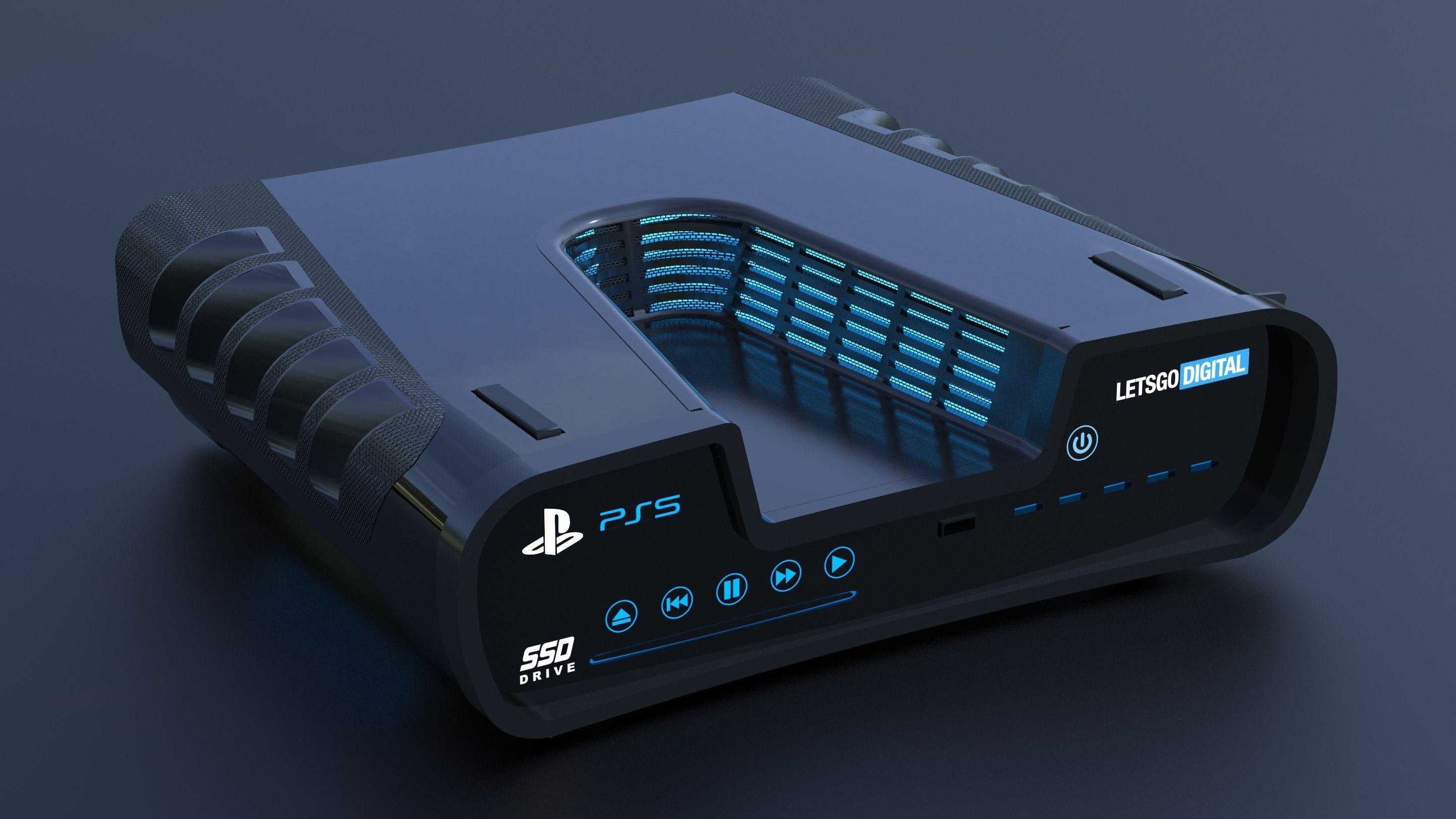 Slik skal utviklerversjonen av PlayStation 5 se ut. Den er ventet å komme med masse RAM og stor SSD. Overgangen til fastminne presser forsyningskjedene for denne typen produkter, og prisene øker. Det tar tid å bygge kapasitet til nødvendig nivå.