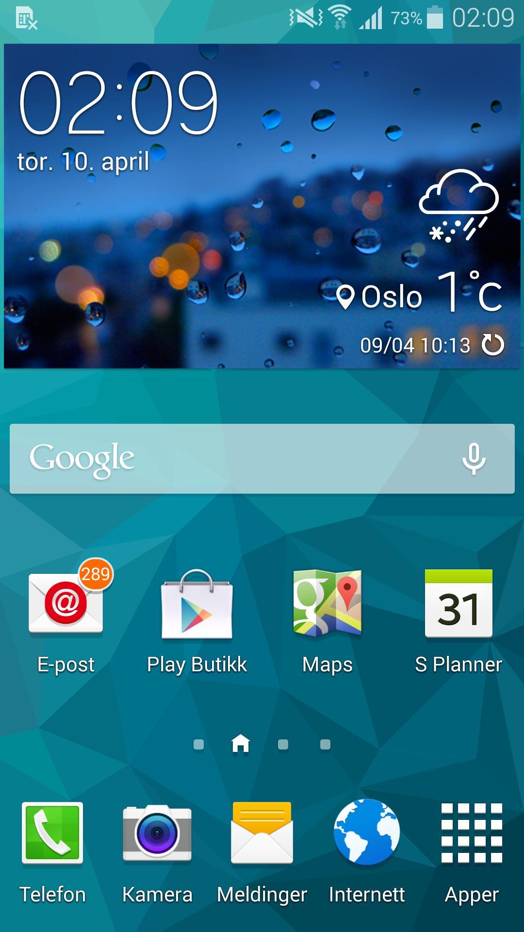 Samsungs Touch Wiz-menyer er kjappe og enkle å bruke.Foto: Finn Jarle Kvalheim, Amobil.no