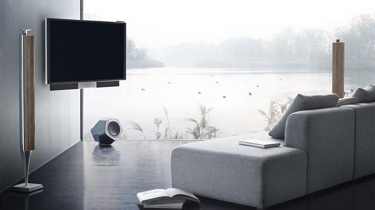 Bang & Olufsen har selv laget TV-er tidligere. Dette er «BeoVision Avant», lansert i 2014.