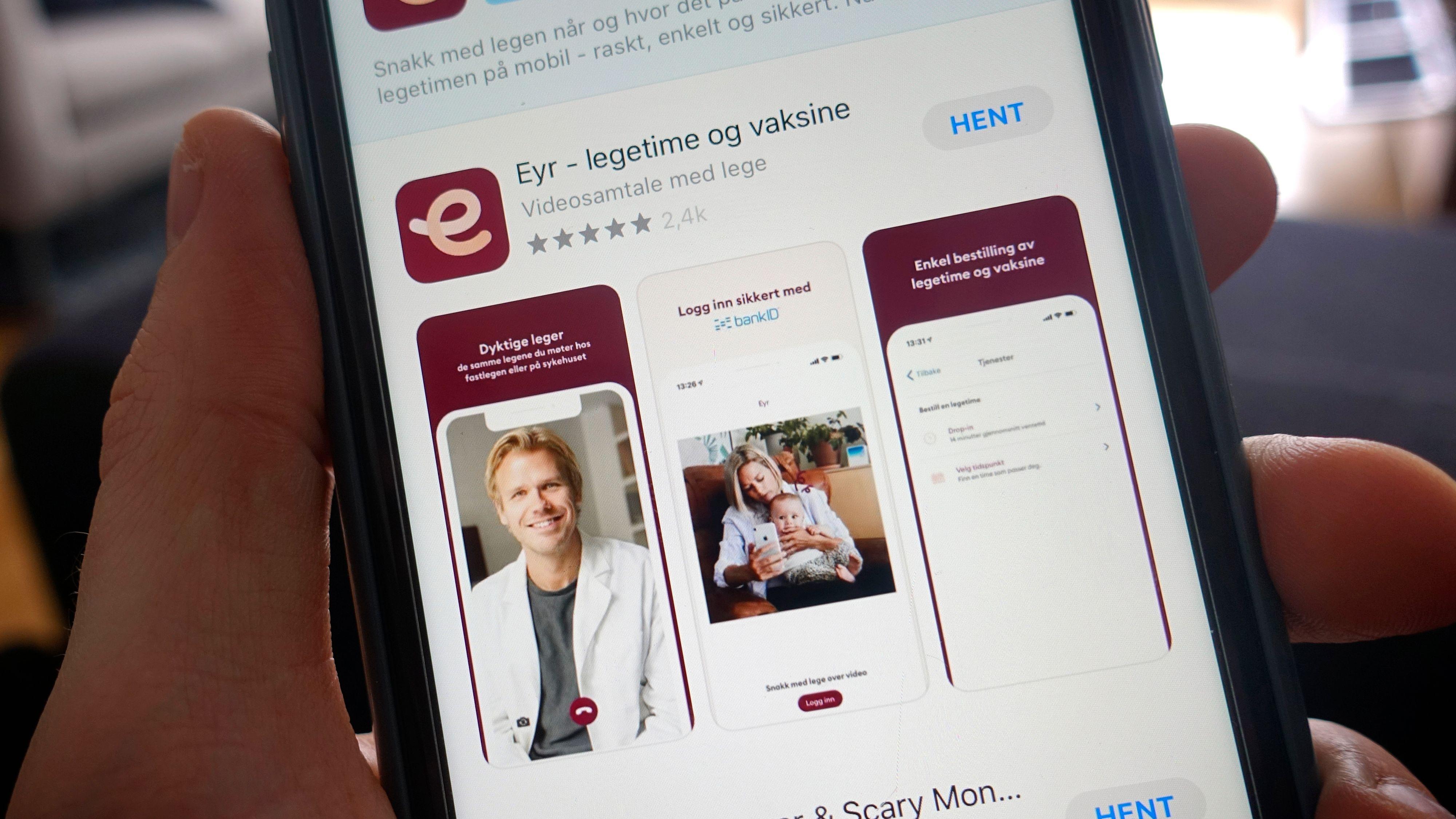 Apper som Eyr, Kry og andre som tilbyr legekonsultasjoner over videosamtale merker godt pågangen i forbindelse med coronaviruset. En stor andel av henvendelsene handler imidlertid om annet enn corona.