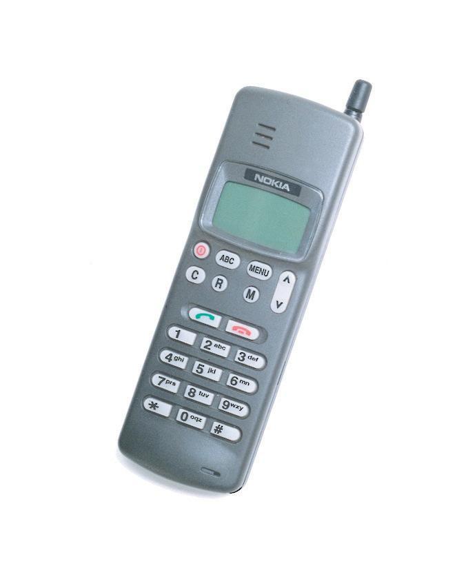 Nokia 101 kom i 1992, og var en NMT900-mobil.