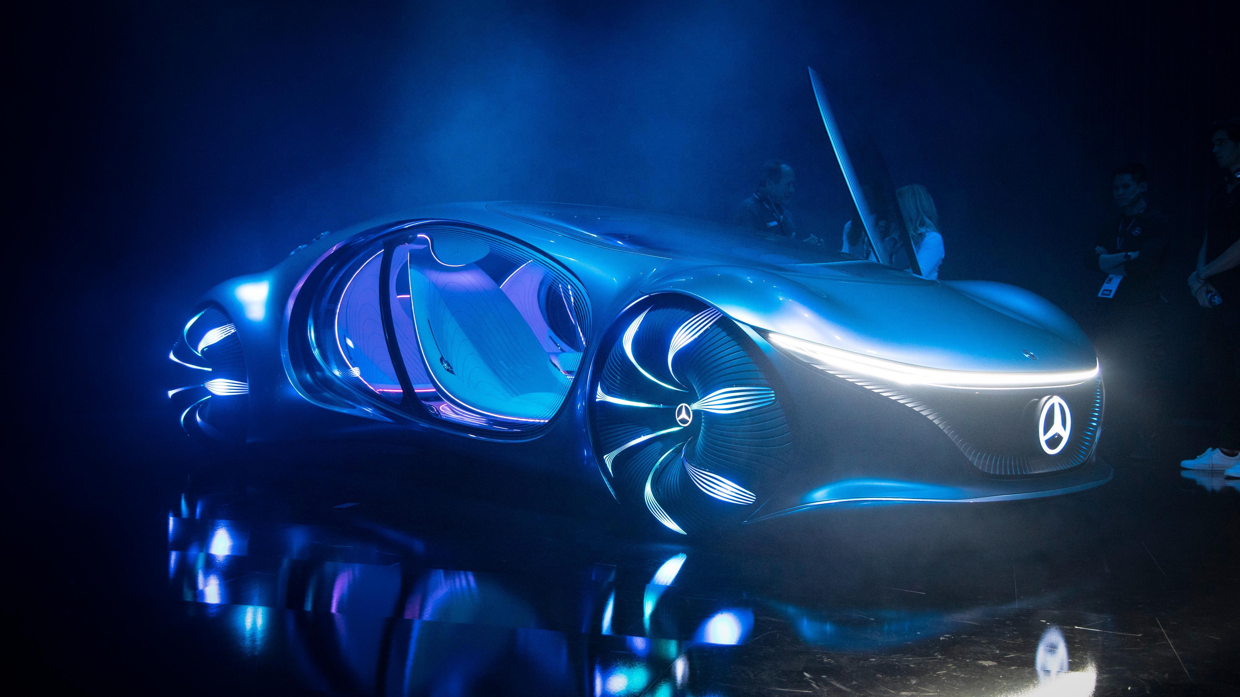 Mercedes-Benz' elleville nye konseptbil er inspirert av filmen Avatar