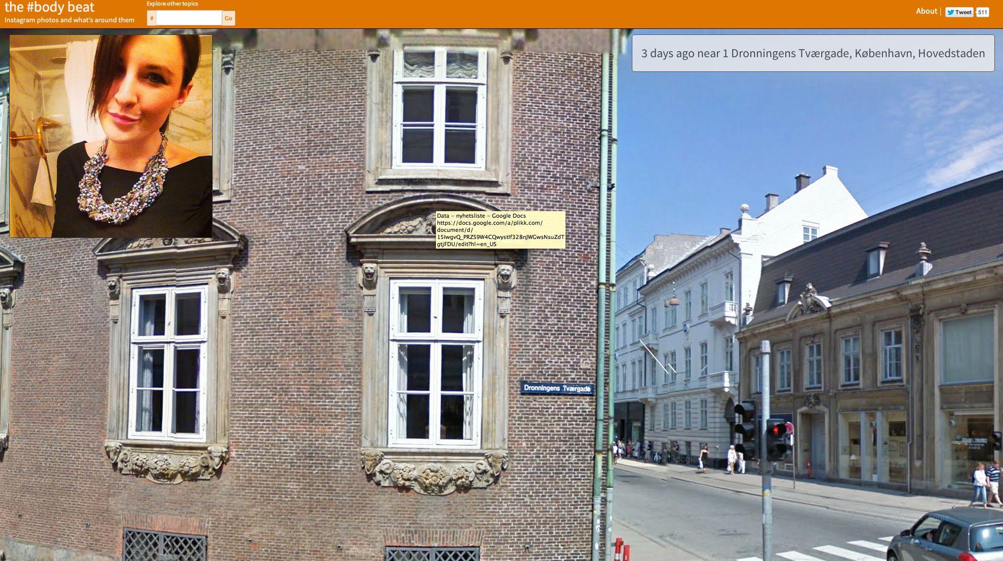 Det er visst sol i København i dag.
