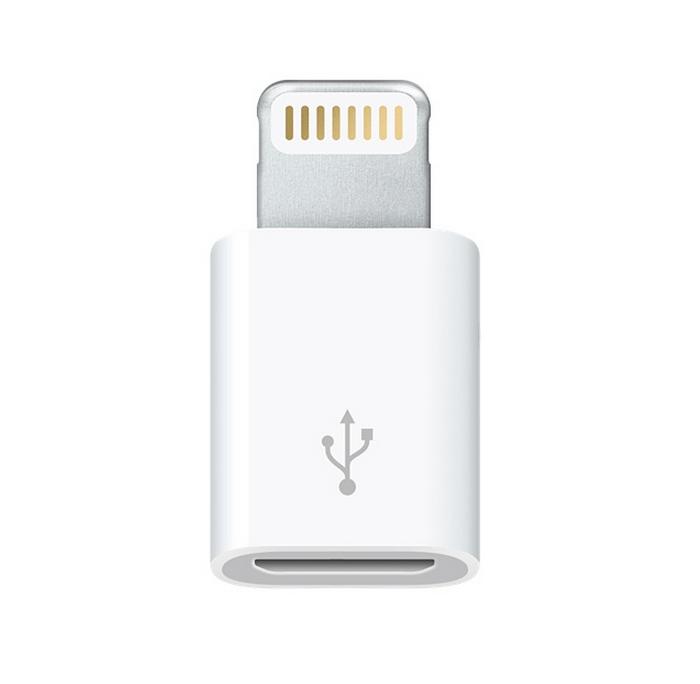 Med denne adapteren har Apple så langt omgått regelverket.Foto: Apple
