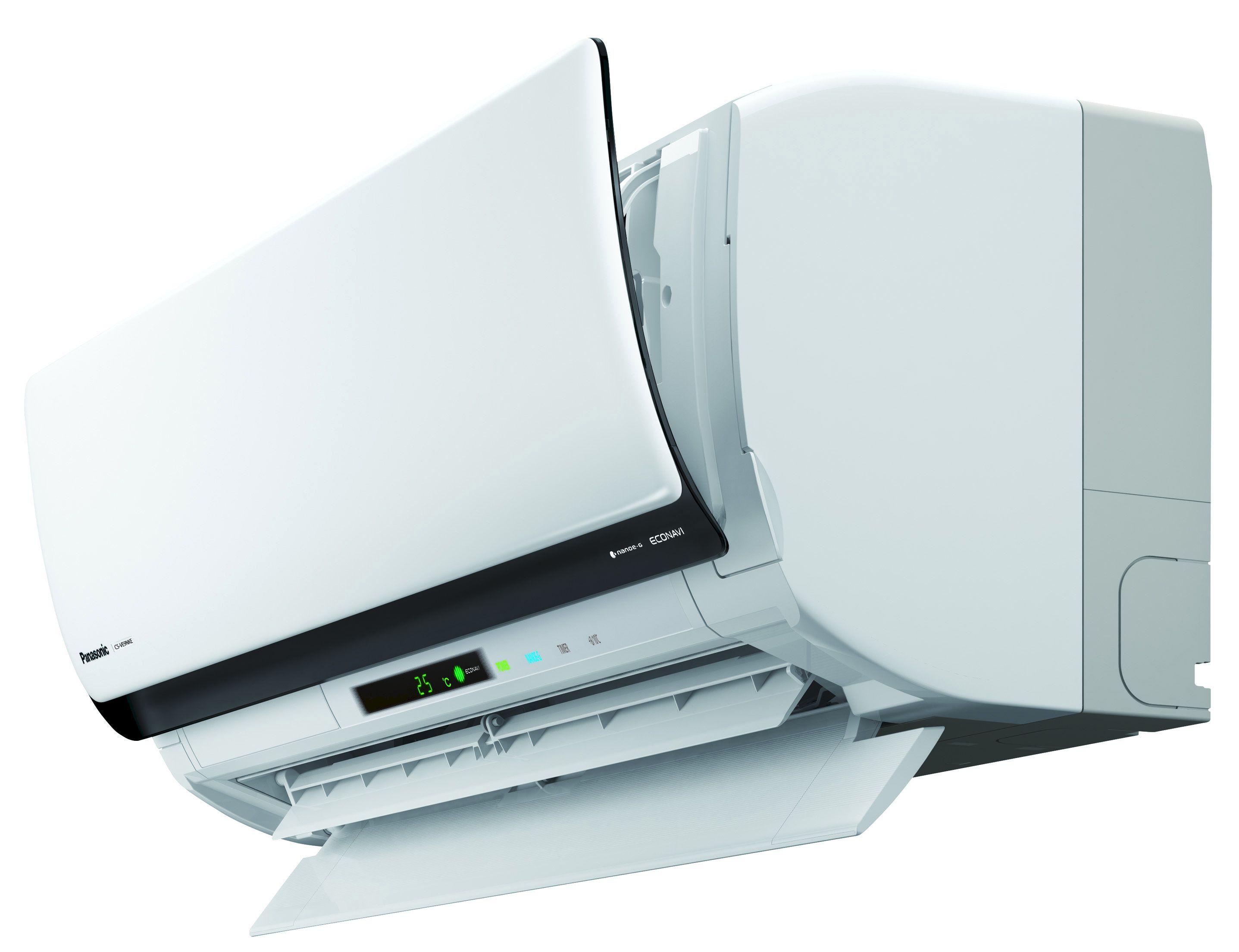 Slik ser Panasonics nye smart-varmepumpe ut. Foto: Panasonic / Verisure