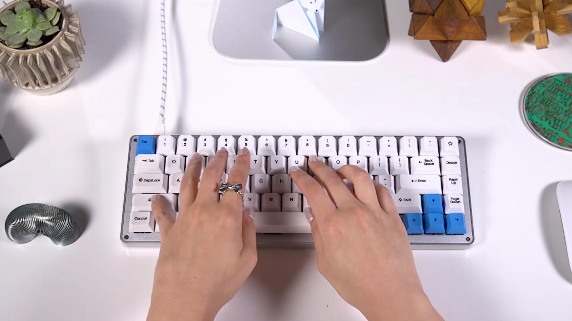 Dette kompakte entusiasttastaturet ble en stor suksess på Kickstarter