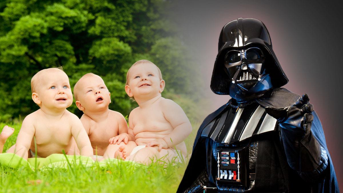 Flere og flere foreldre kaller opp barnet etter Darth Vader