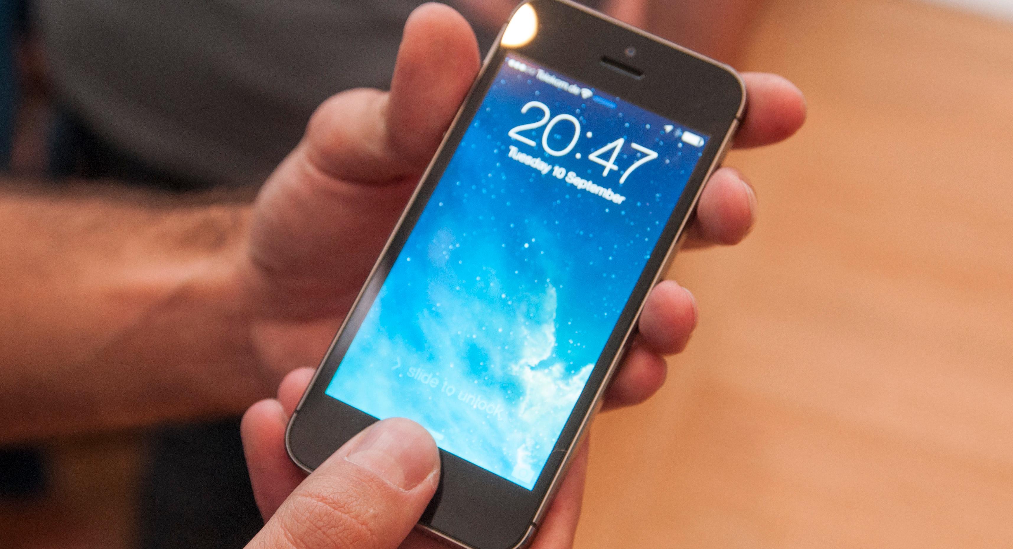 Apple iPhone 5S.Foto: Shutterstock/150697043, Apple