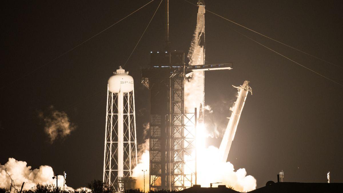 SpaceX med vellykket oppskytning