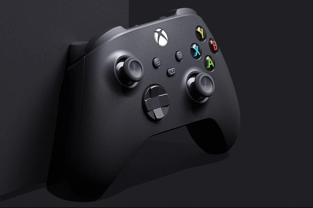 Slik ser Xbox Series X-kontrolleren ut. Du kan imidlertid bruke dagens Xbox One- og Elite-kontrollere på den nye konsollen også.