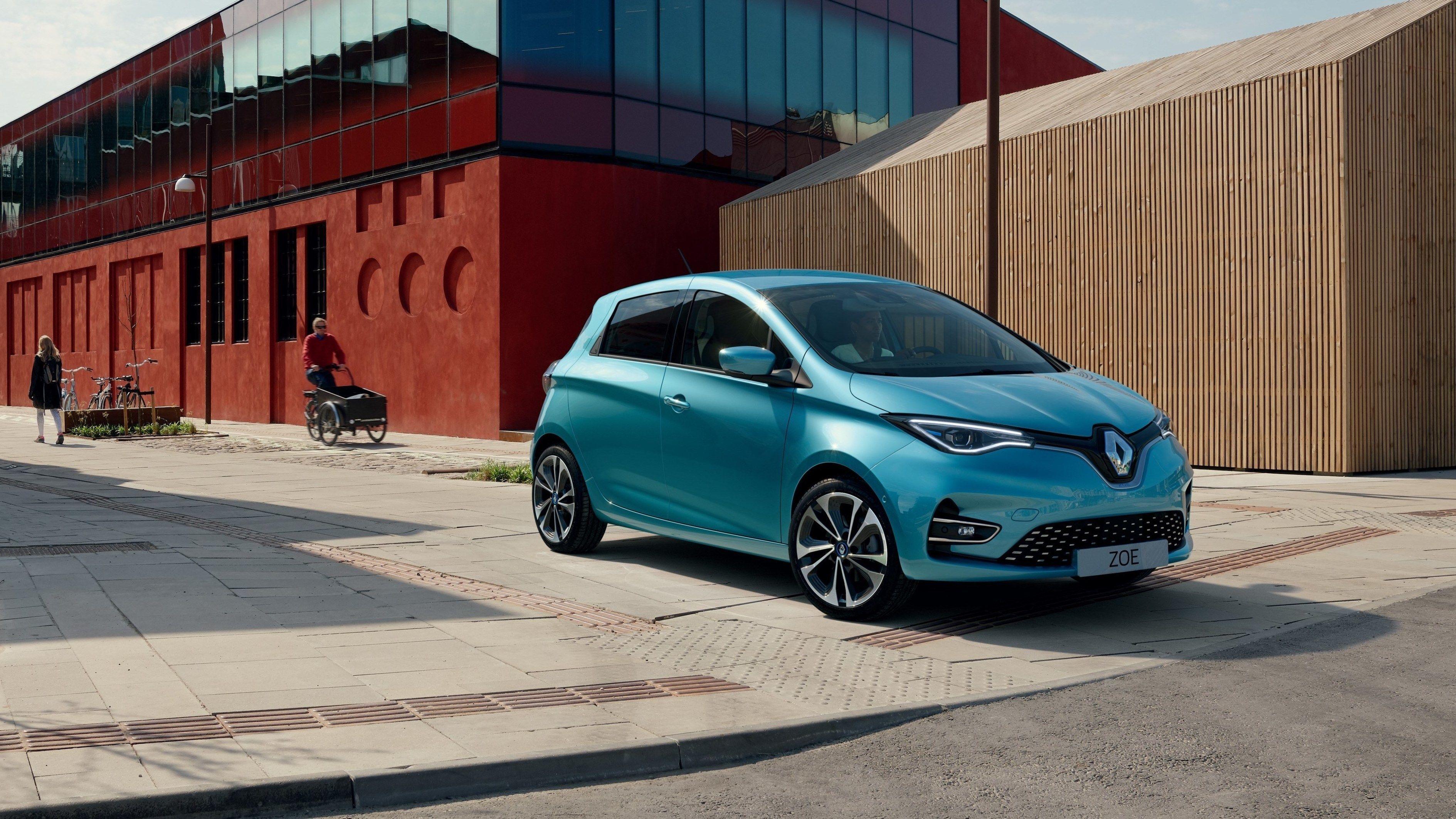 Nye Renault Zoe får større batteri og hurtiglading