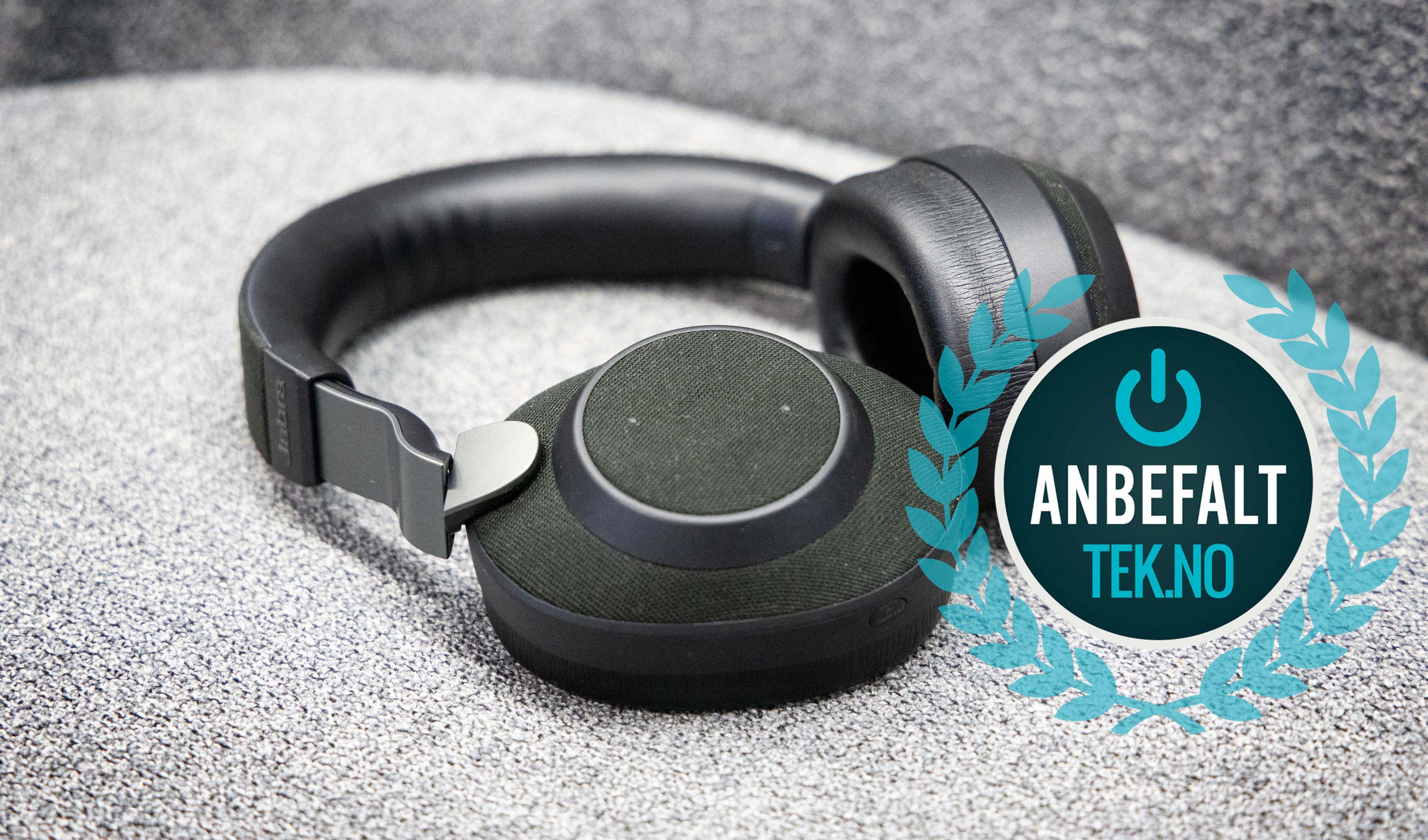 Jabra gir Sony tøff kamp om å tilby den beste kombinasjonen av lydkvalitet og støydemping. Resultatet er nærmest uavgjort.