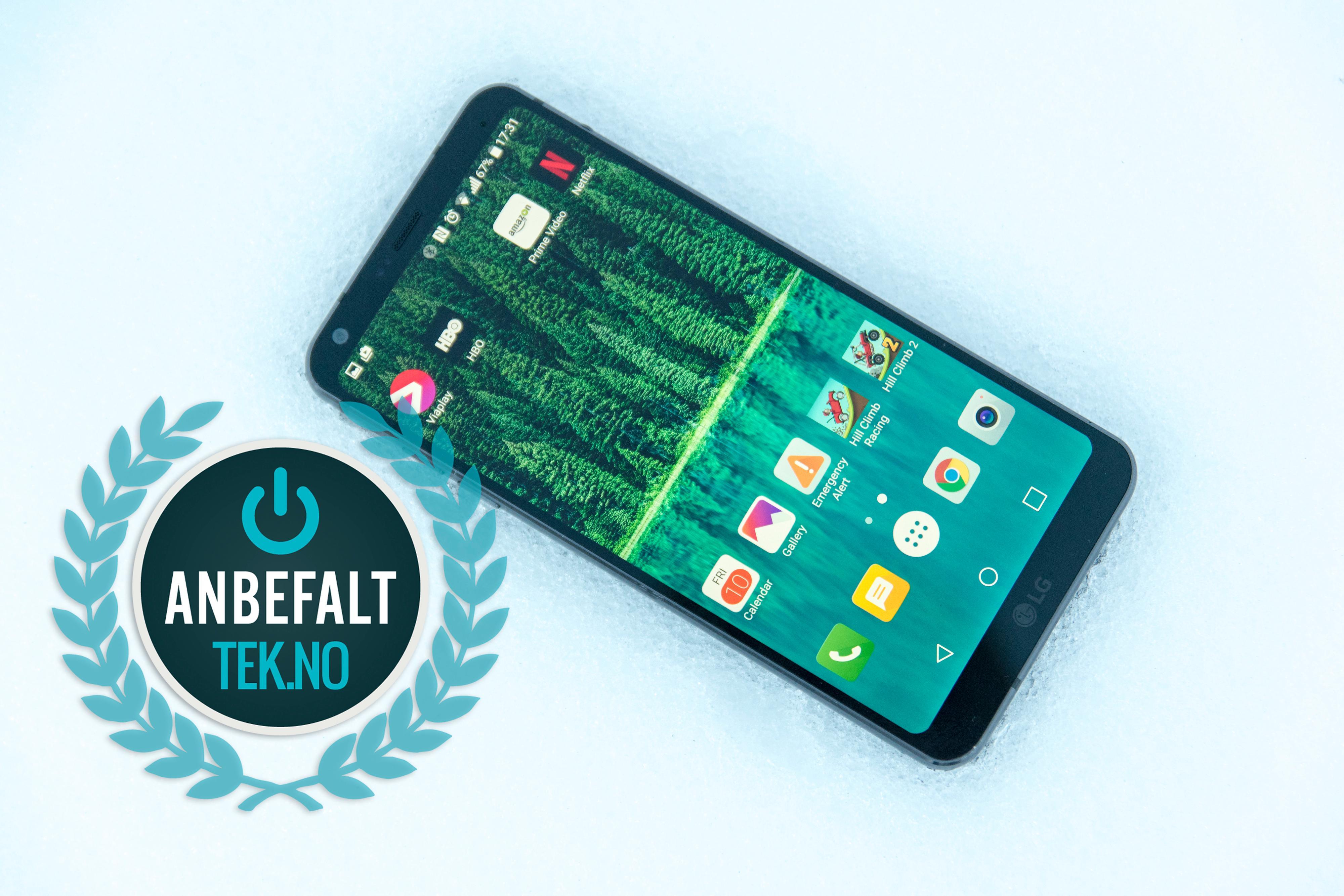 Nye LG G6 er rett og slett svært god. Den er først ut fra de store mobilprodusentene med radikale nye skjermvalg, samtidig som den beholder noen av de beste kvalitetene fra tradisjonelle mobiltelefoner.