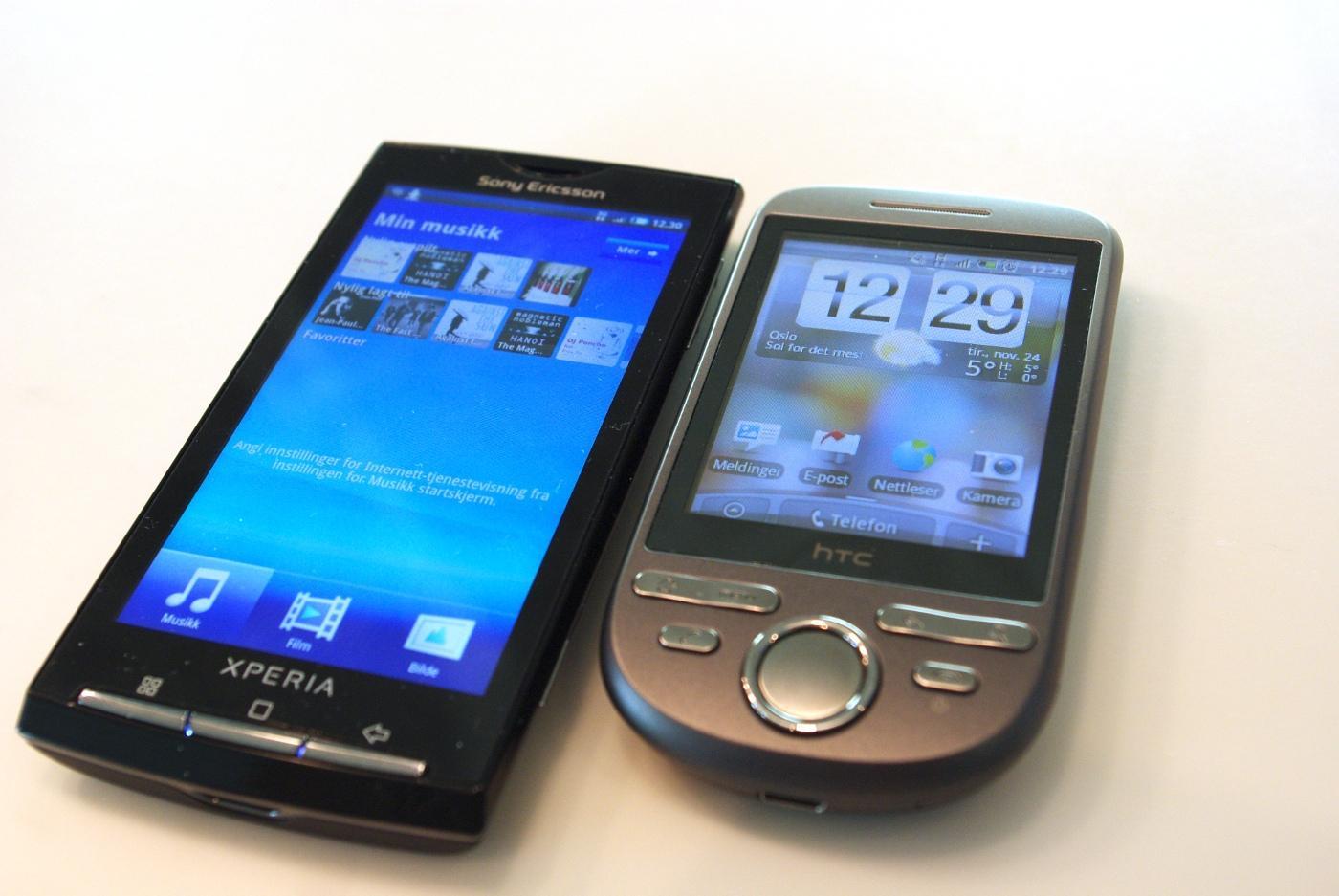 X10 er en fyldig Android-telefon.