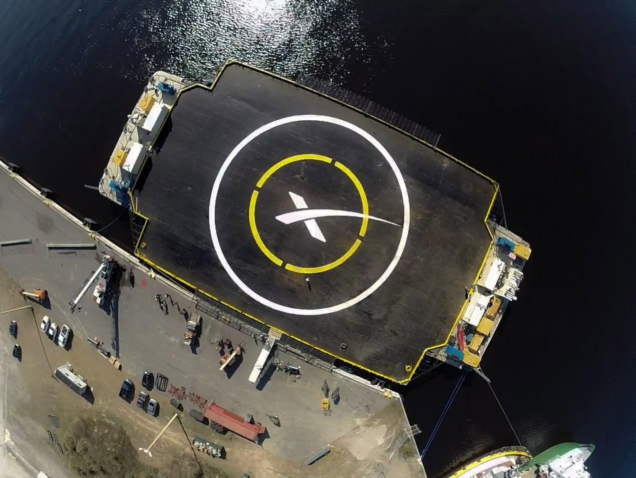 Lekteren som SpaceX sikter på er på størrelse med en liten fotballbane. Foto: Elon Musk, Twitter