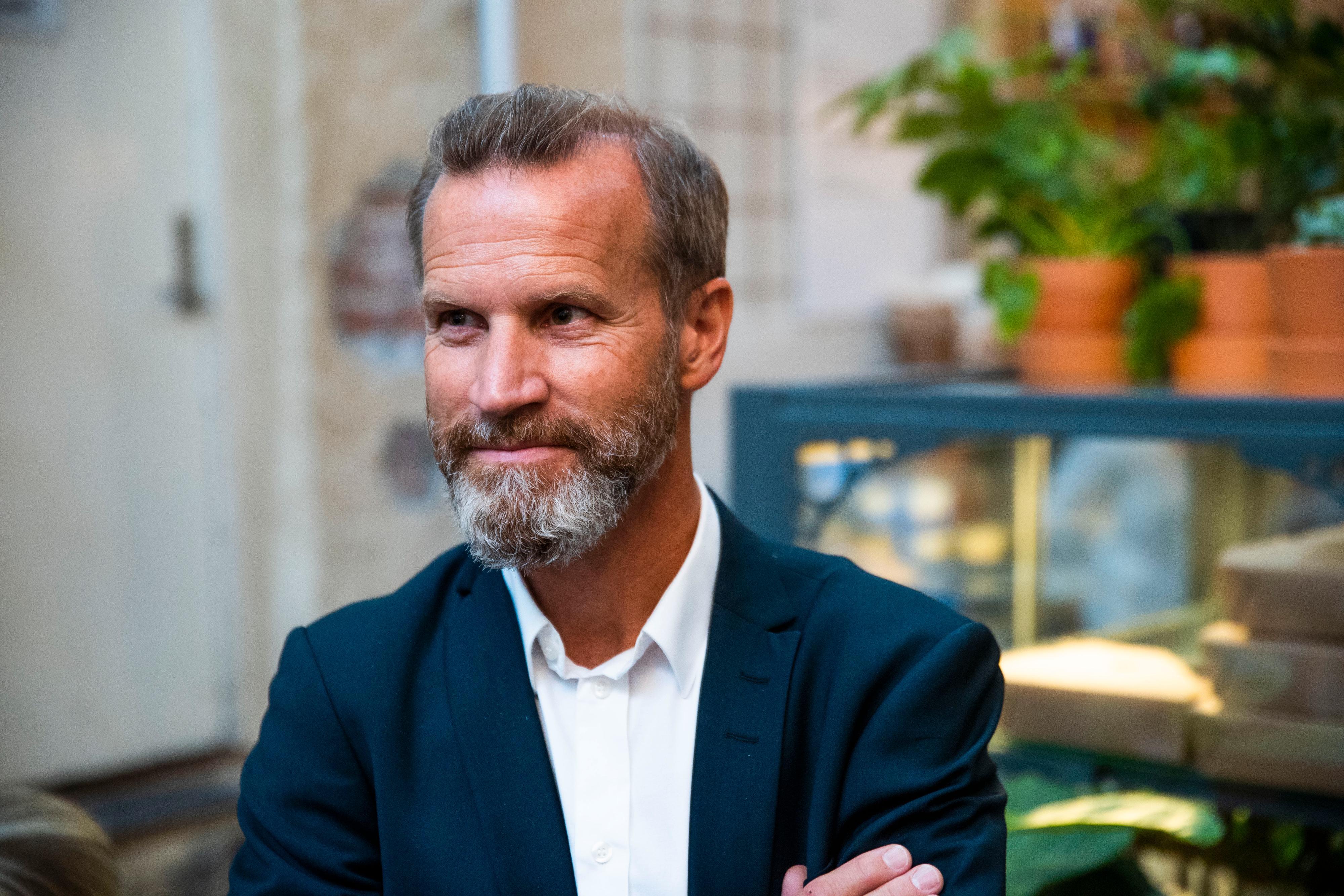 Anders Krokan, pressjef i Telenor Norge