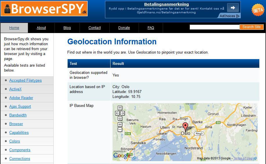 Din IP-adresse kan avsløre mye om deg.