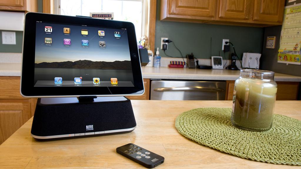 Gjør iPad-en til stereoanlegg
