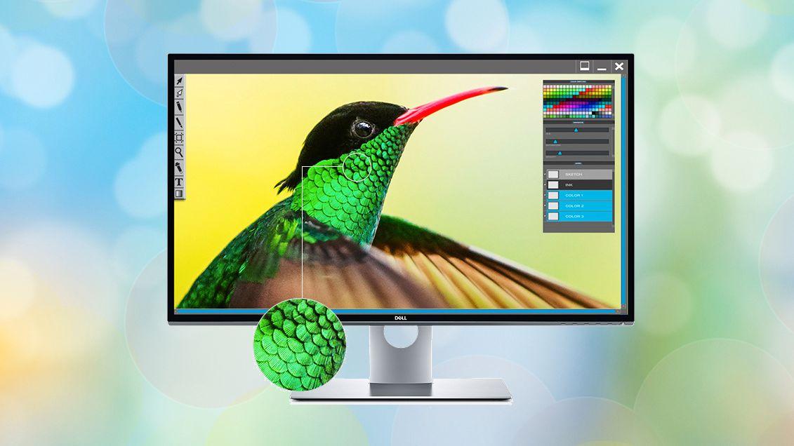 Dell slipper 8K-skjerm som kan vise én milliard farger