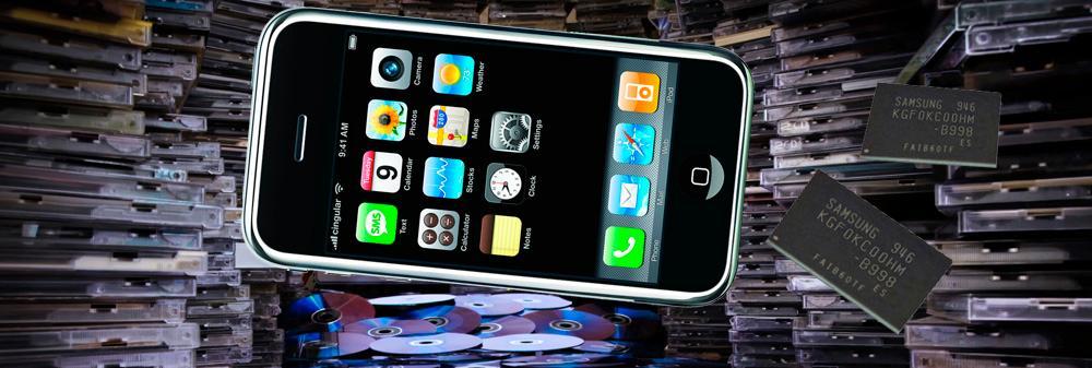 Samsungs 64 GB-brikke nærmer seg