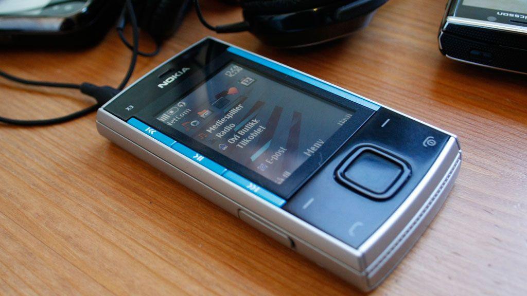 Test: Nokia X3 – Musikkmobil for generasjon X