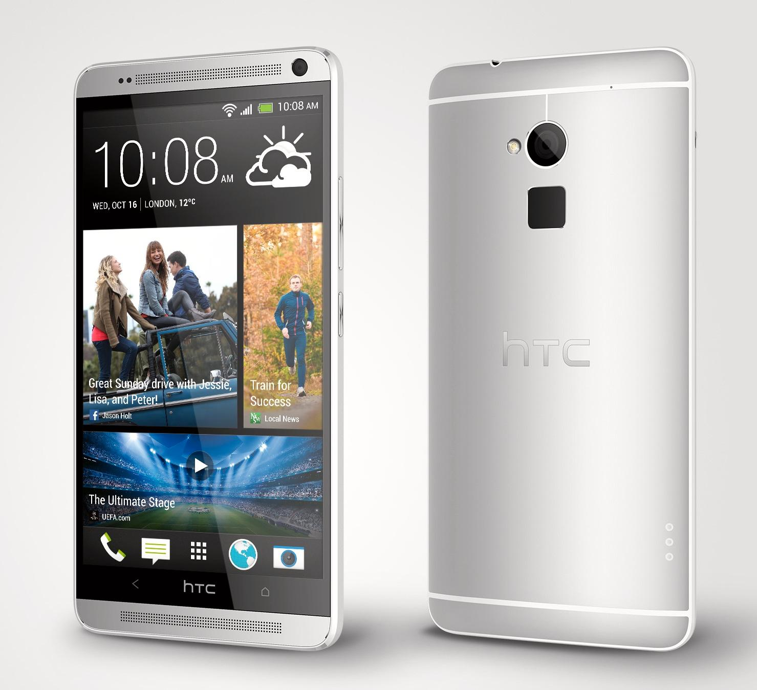 HTC One Max har Android 4.3 med Sense 5.5.Foto: HTC