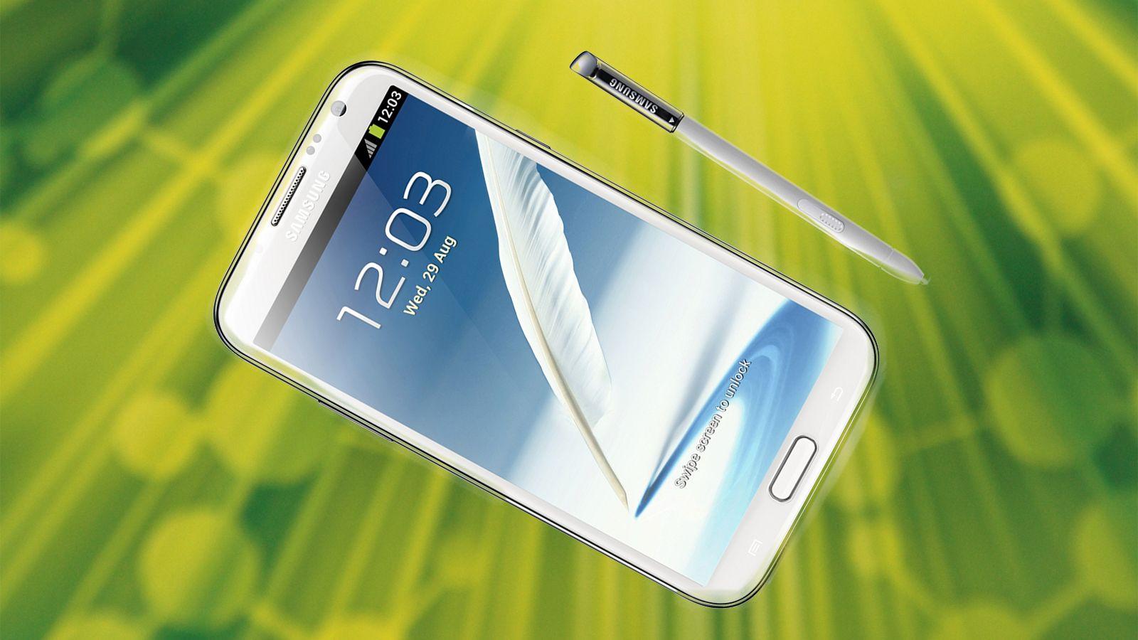 Vinn en Samsung Galaxy Note II