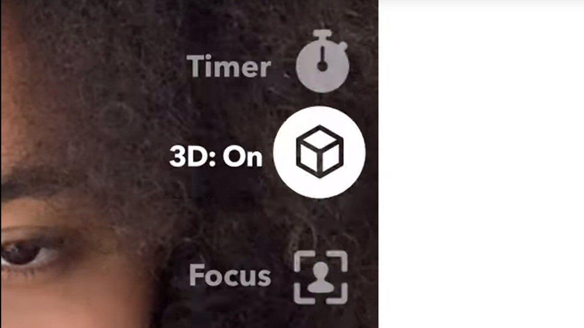 Snapchat slipper ny selfiemodus