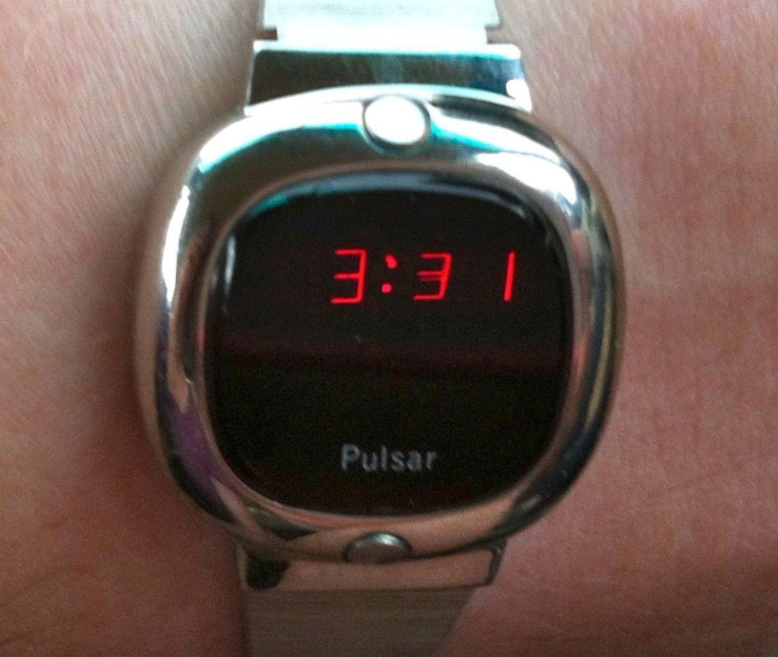 Pulsars første digitale klokke. Foto: Wikipedia