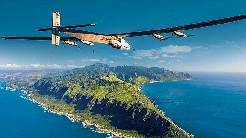 Nå krysser solcelleflyet Stillehavet