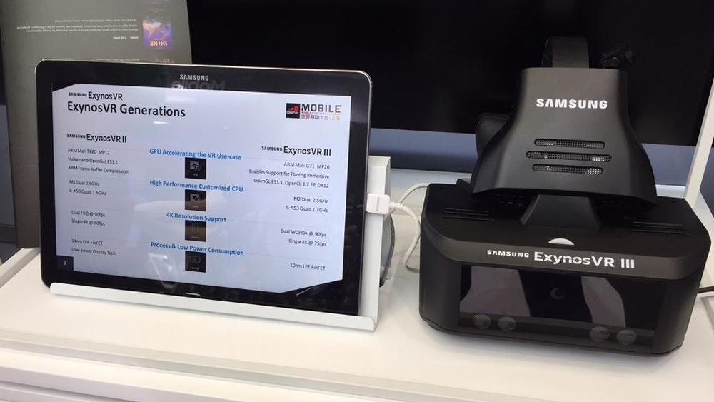 Samsung har laget et par nye VR-briller som ikke krever mobil eller PC