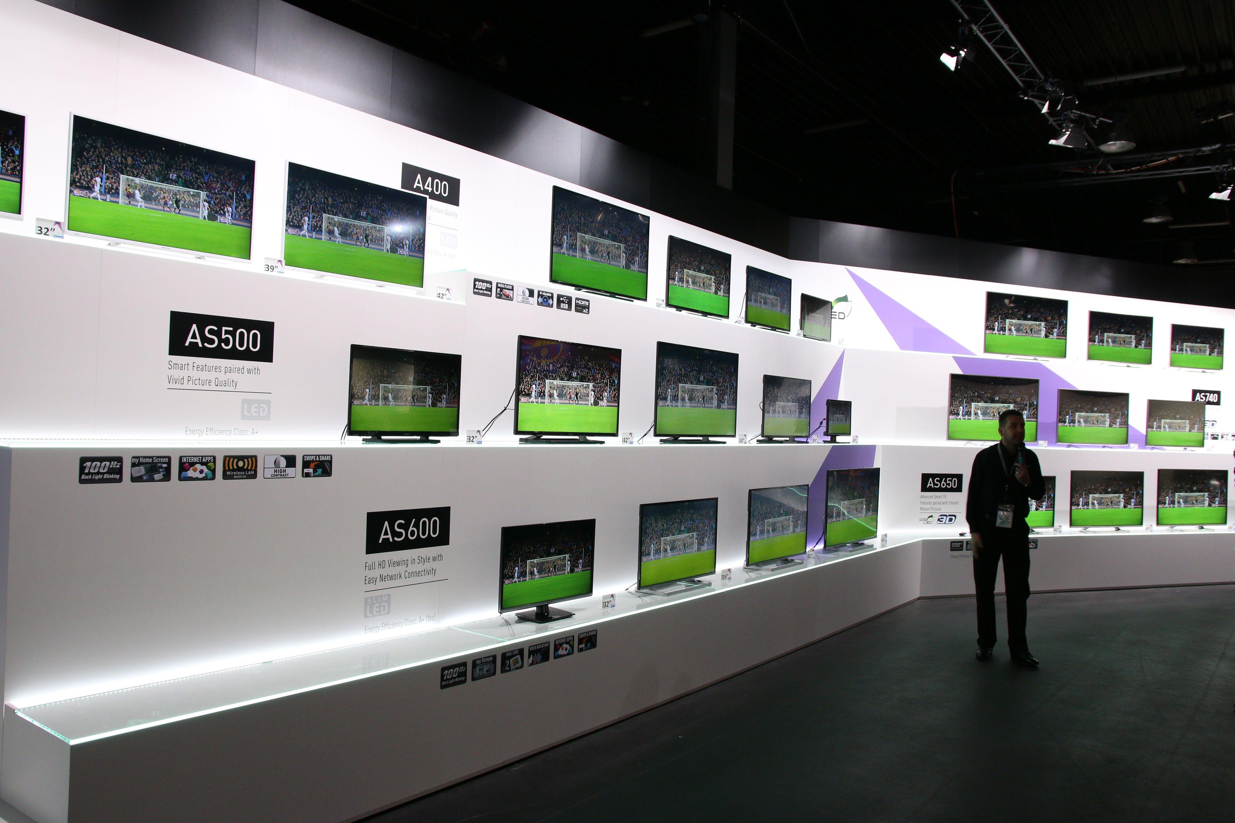 Panasonic slipper mange nye serier i 2014.