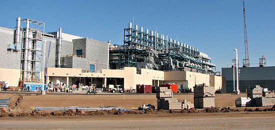Bilde fra byggingen av Intels Fab 32 i Arizona (Bilde: Intel)