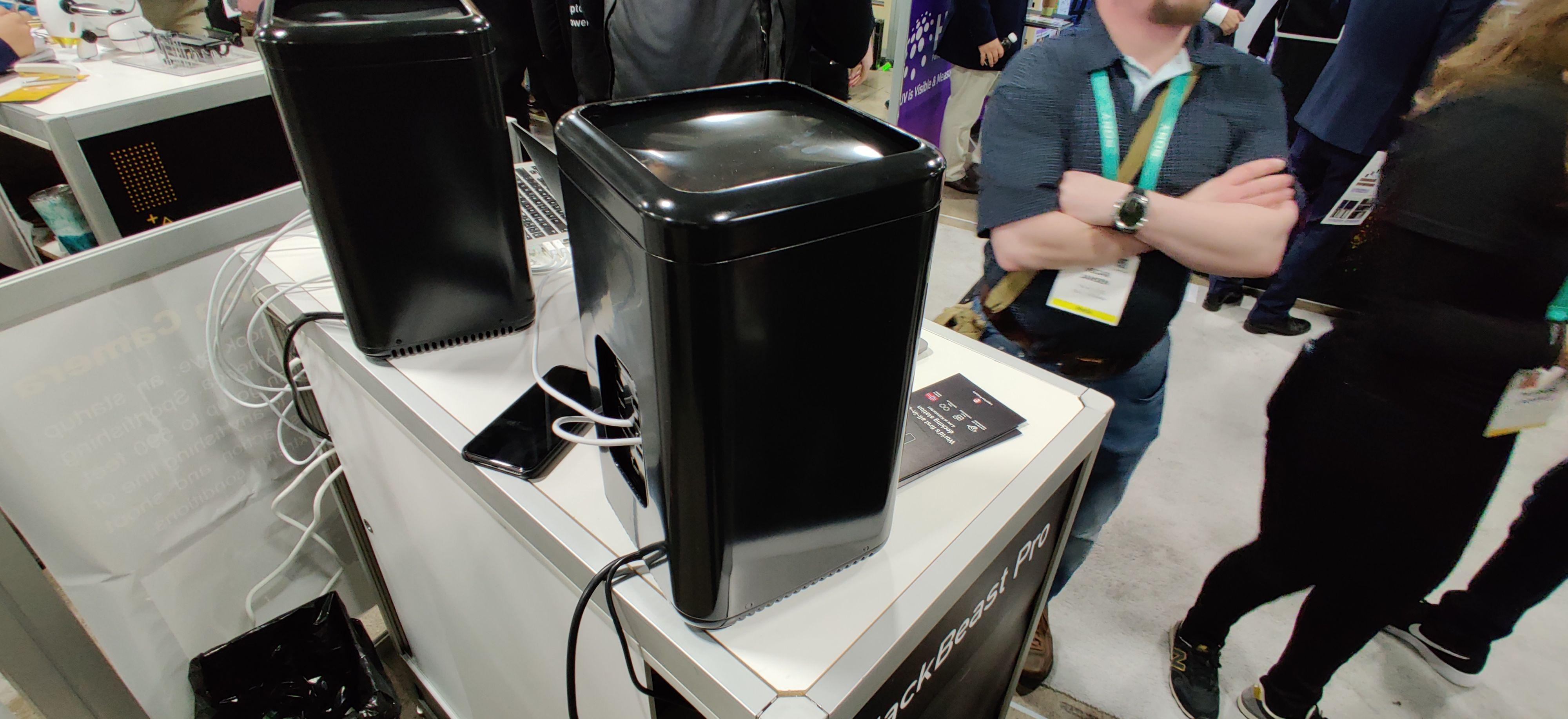 BlackBeast Pro slik den så ut på CES-messen i starten av 2020.