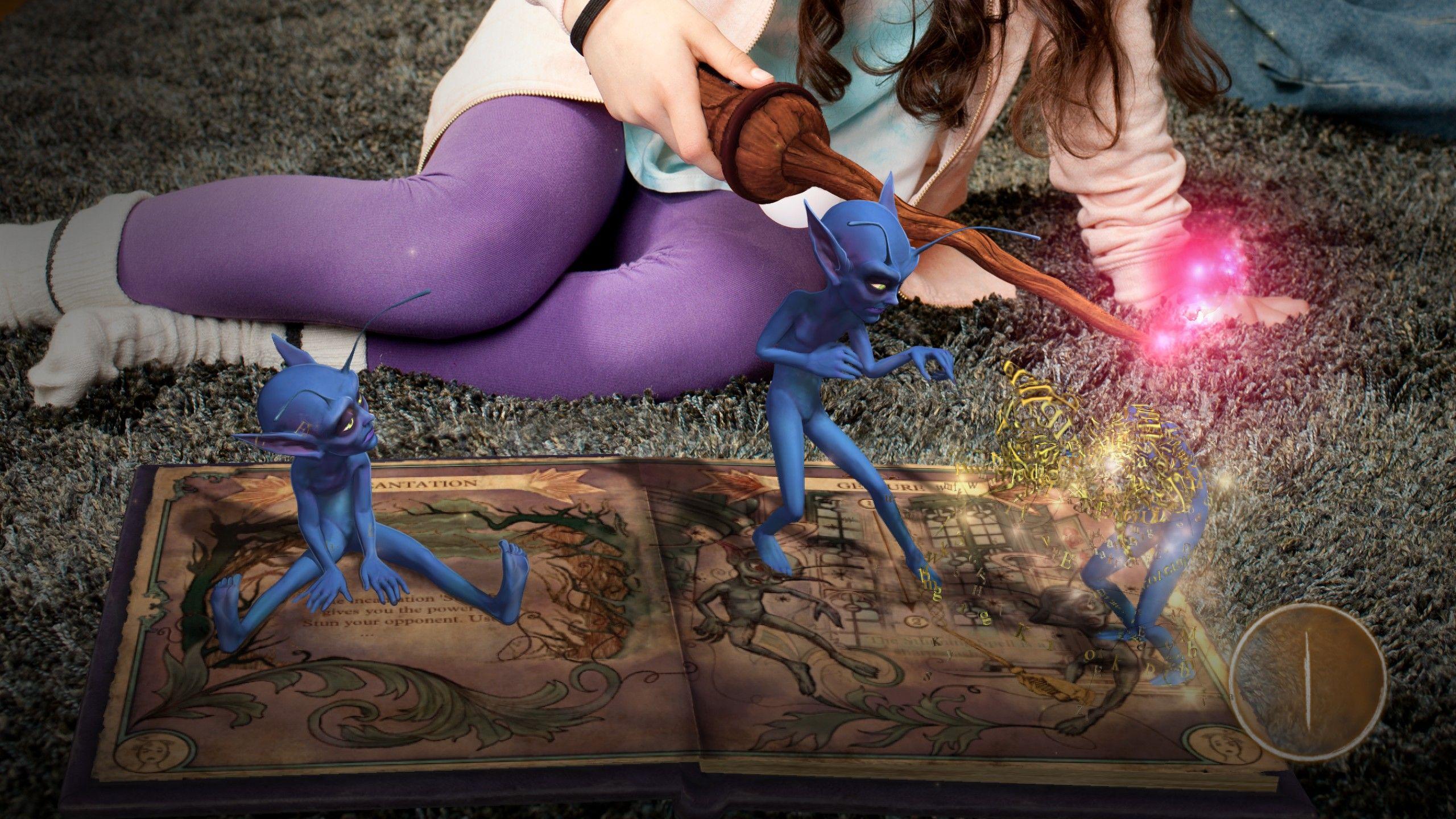 I Book of Spells skal du lære å trylle.Foto: Sony PlayStation