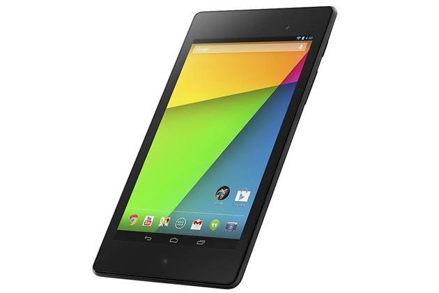 En ny versjon av Google og Asus' nettbrett Nexus 7 er sluppet. Nettbrettet vil få Android 4.3 med en gang. Oppdateringen rulles også ut til de andre Nexus-produktene.Foto: Google