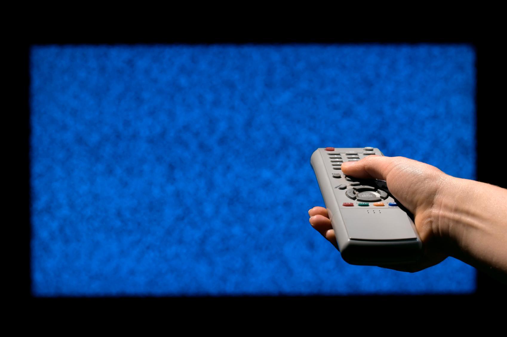 Plomberer du antenneinngangen, er ikke lenger TV-en en mottaker.Foto: iStock,6537538