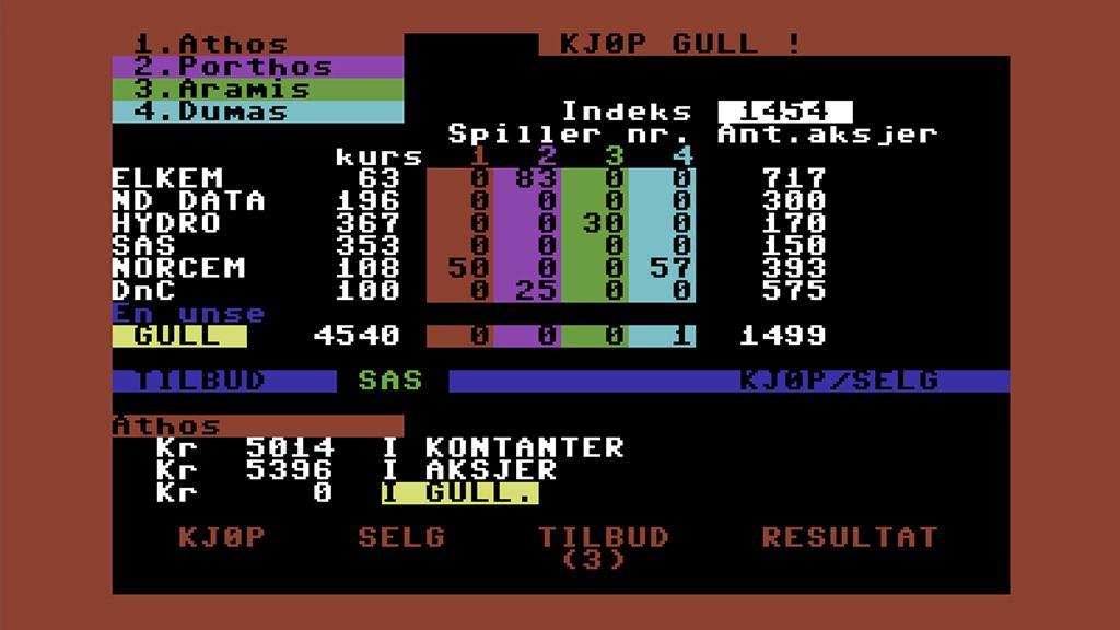 Klassisk Commodore 64-spill i Android-versjon.