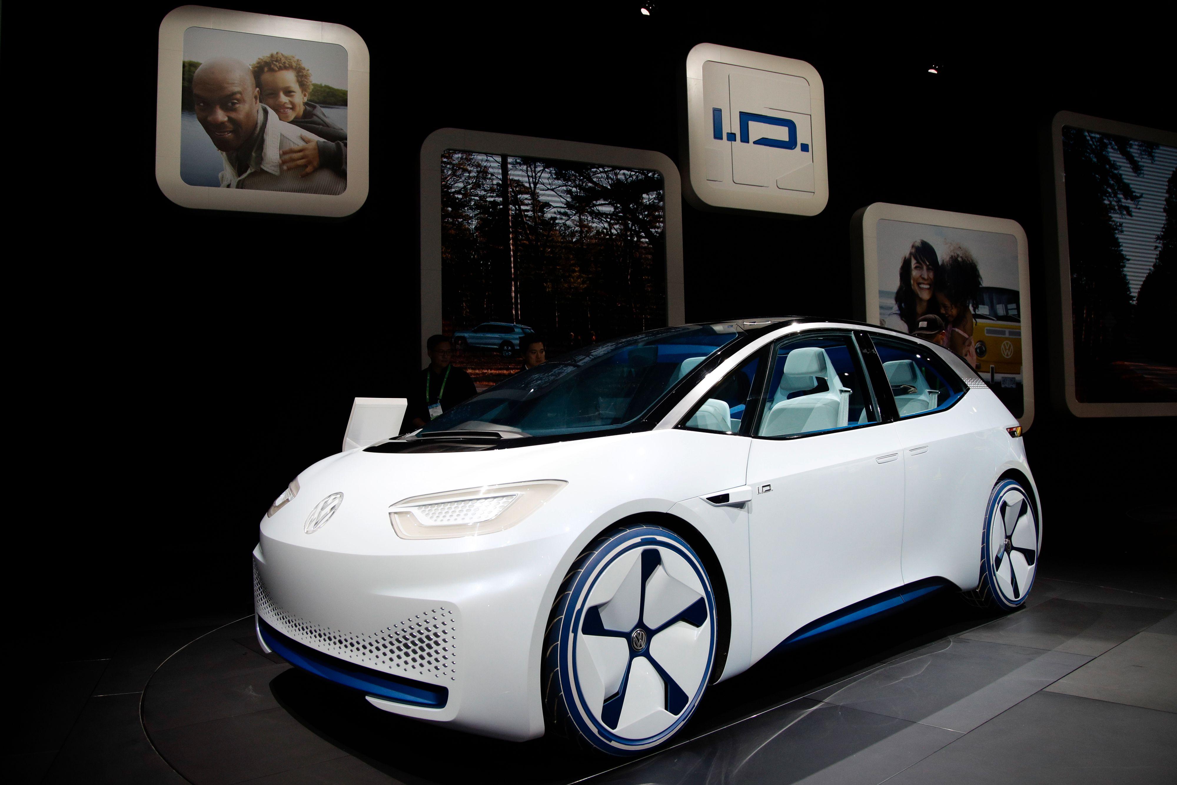 Slik så konseptversjonen av bilen ut.
