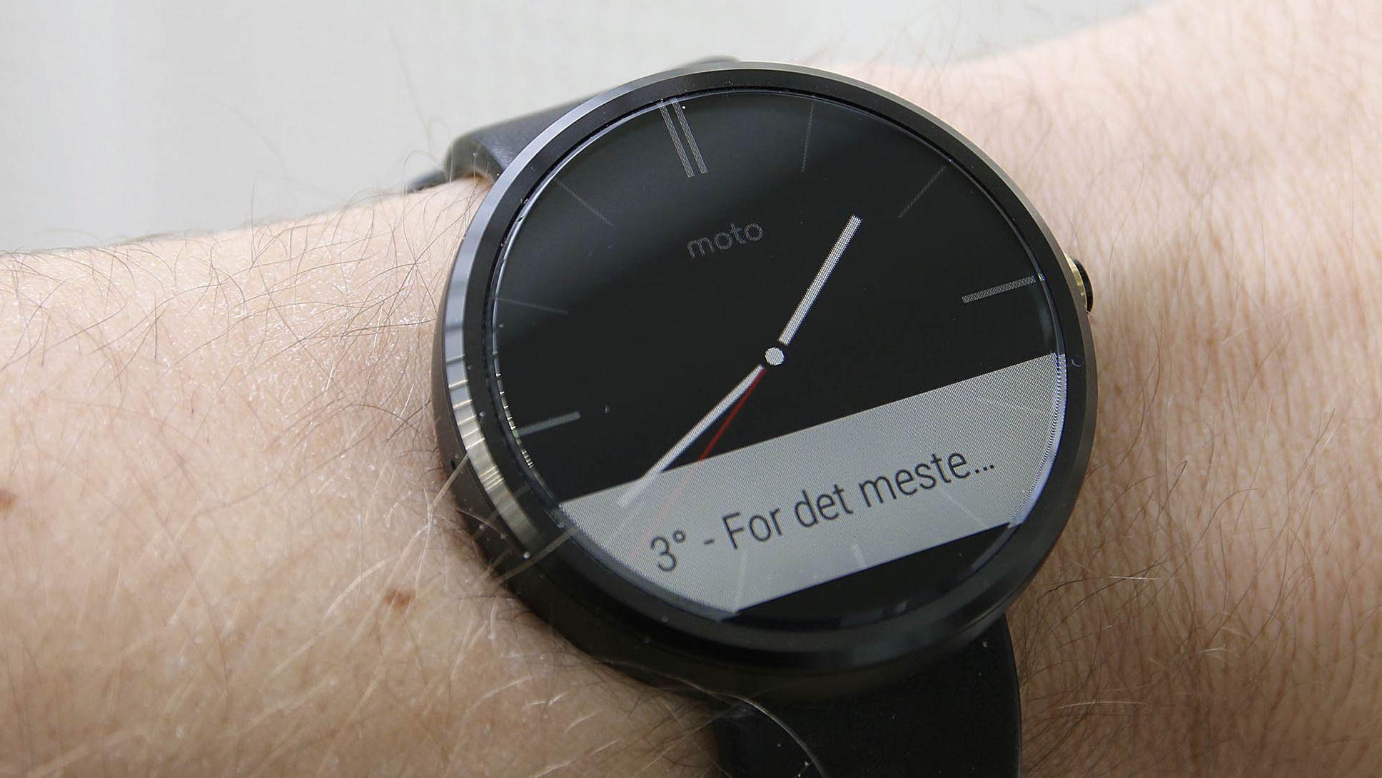 Motorola Moto 360 Test Tek.no
