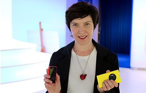 Tuula Rytilä fra Nokia Conversations.Foto: Nokia Conversations
