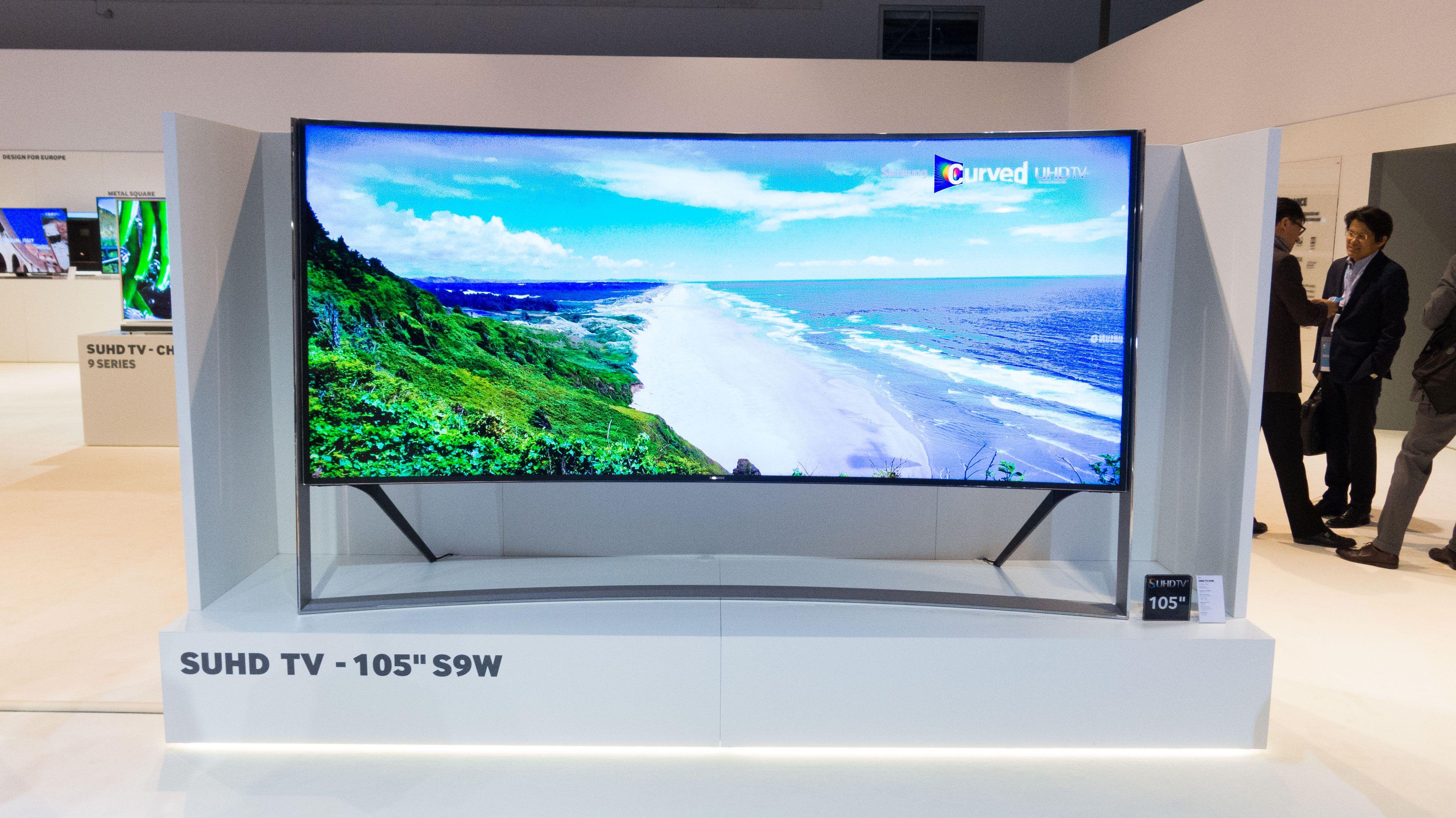Samsung er en av verdens største TV-produsenter. Foto: Ole Henrik Johansen / Tek.no
