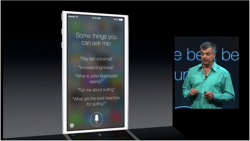 Siri har fått en grafisk overhaling, og har blitt mye smartere.Foto: Apple