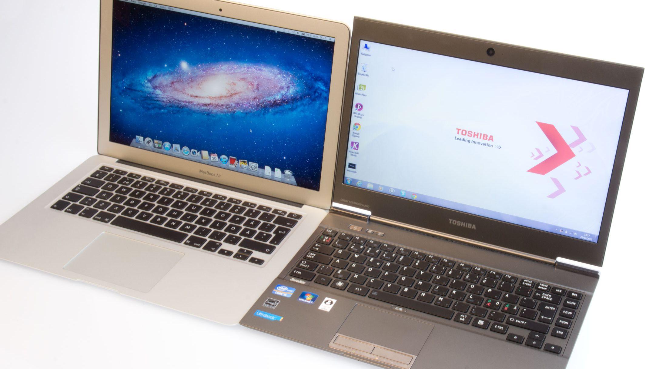 Bærbar Mac vs. PC