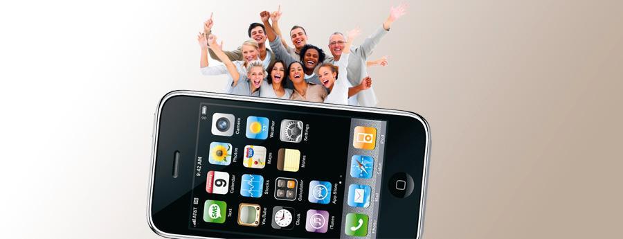 Ingen er misfornøyde med Iphone