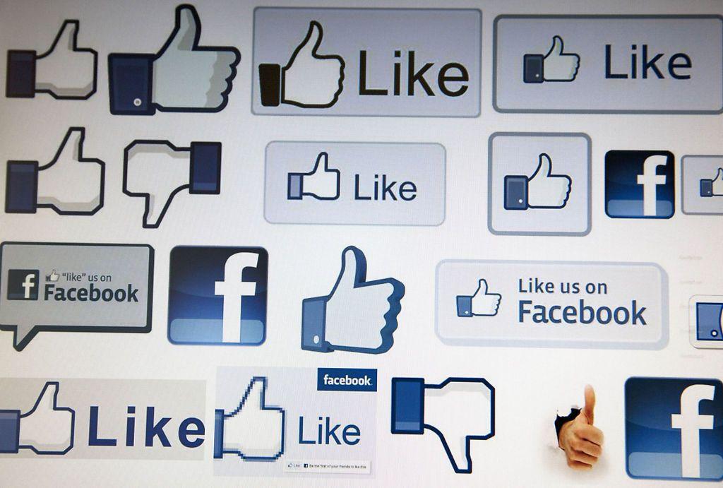 SUKSESS: «Liker»-knappen har blitt en stor suksess for Facebook. Her i mange forskjellige varianter.Foto: Rex/Jeff Blackler (All over press)