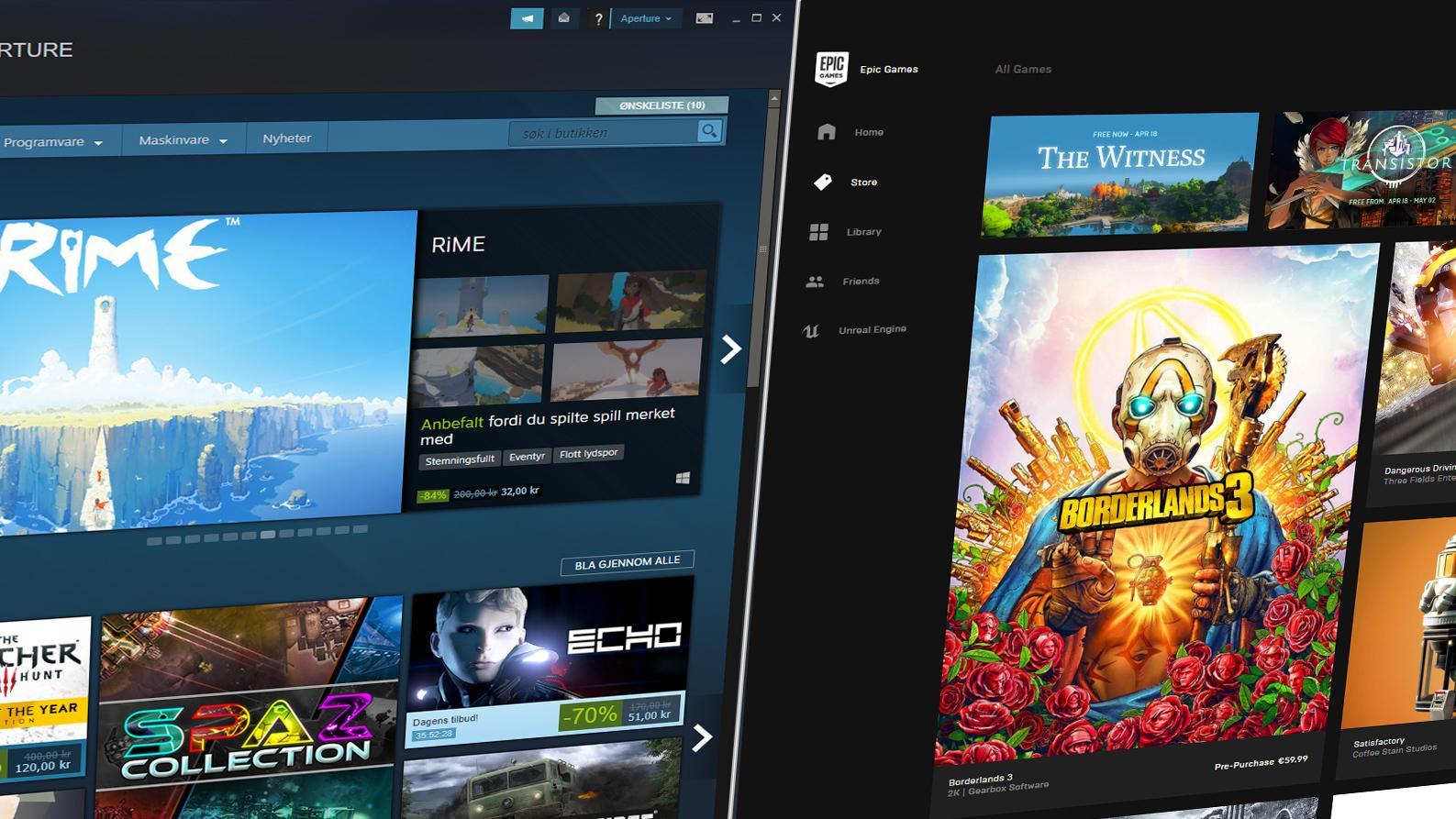 – Steam drepte PC-spilling