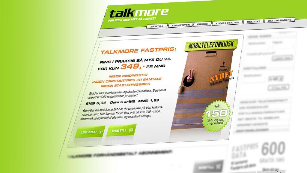 Talkmore spytter inn 150 SMS